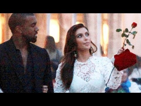 Kim Kardashian and Kanye West's Wedding