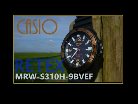 Casio MRW-S310H-9BVEF - Solaire et à petit prix - Retex/Revue - (French)