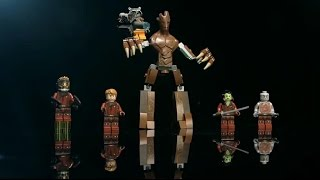 Guardians of the Galaxy: Minifigure - LEGO MARVEL Super Heroes - Designer Video