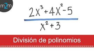 División de polinomios │ ejercicio 1