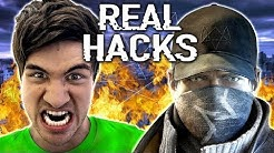 REAL WATCH DOGS HACKS! (w/ Rob Dyrdek)