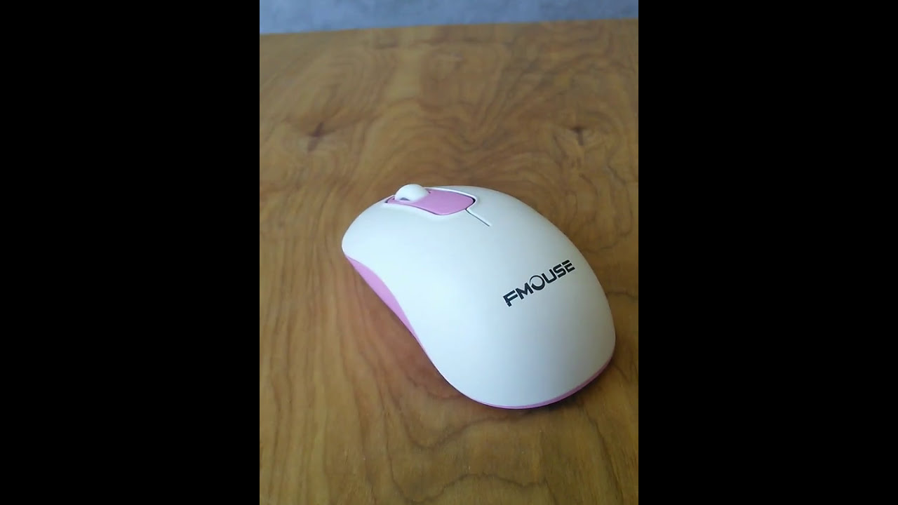 635fd0aa798 TENMOS M201 2.4Ghz Wireless Soundless Optical Mouse - YouTube