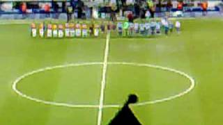 GALATASARAY GEGEN HERTHA BSC UEFA CUP 1:0 ANPFIFF