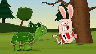 A teknős és a nyúl (La Fontaine mese)