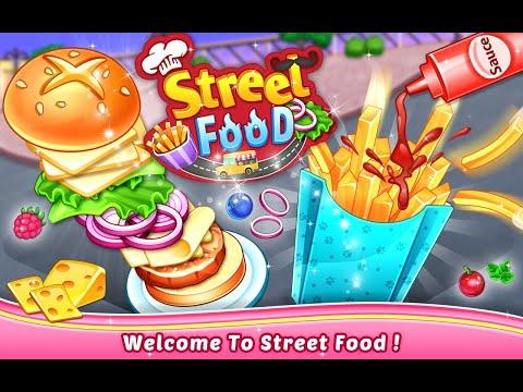 Fun Baby Games - Street Food - Kids Cooking Game Trailer by Crazyplex LLC