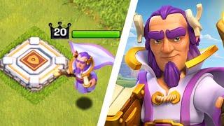 """NEW HERO!! """"Grand Warden"""" - Clash of Clans - NEW Hero Update (CoC New Hero Gameplay)"""