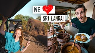 Tour of Our LUXURY Jungle Hotel! + Our First Elephant Safari ??? (Udawalawe, Sri Lanka)