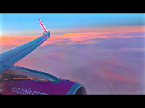 Wizzair Airbus A320-232 | London Luton to Tel Aviv *Full Flight*