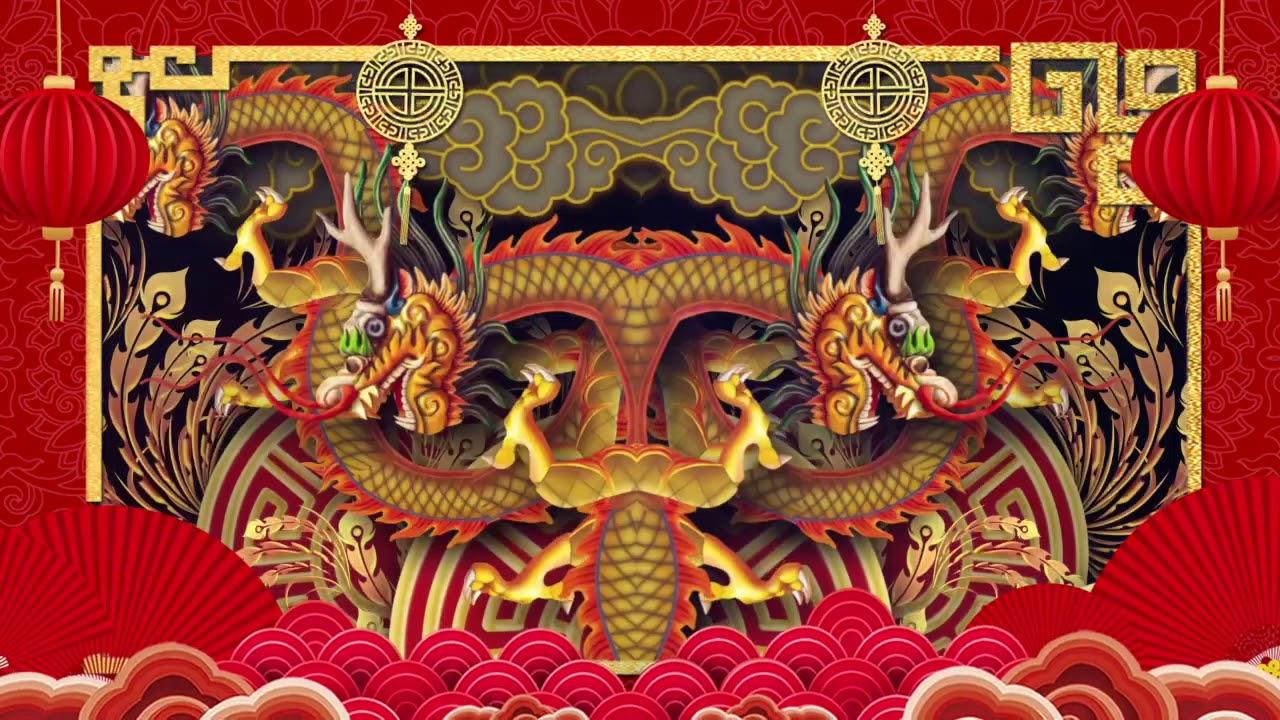 China New Year Countdown Motion Graphic - YouTube