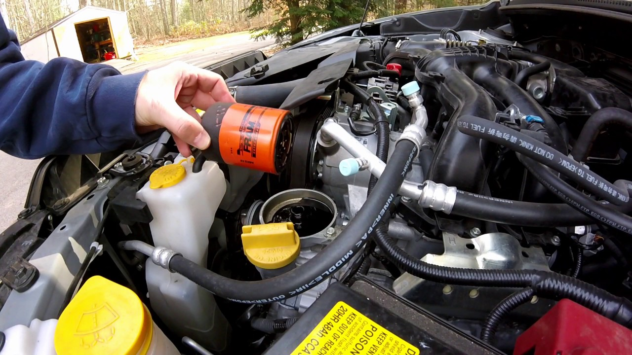 2017 Subaru Xv Crosstrek Oil Change