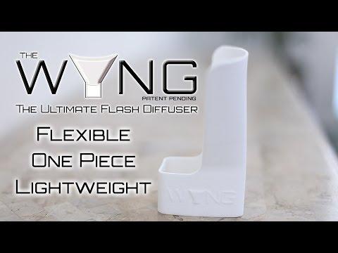 3D Flex Flash - The WYNG Flash Bounce Reflector Demo