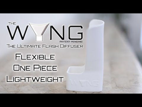 3D Flex Flash - The WYNG Flash Bounce Reflector Demo