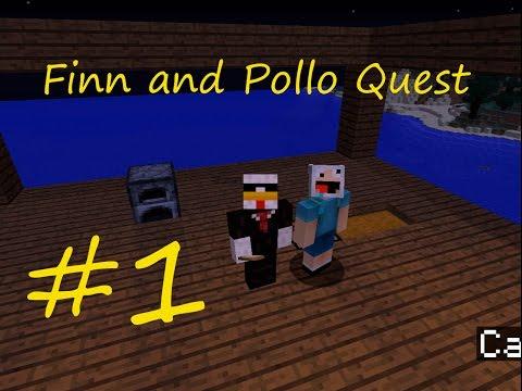 SIN CAMA!! #Finn and Pollo Quest | Ep.1