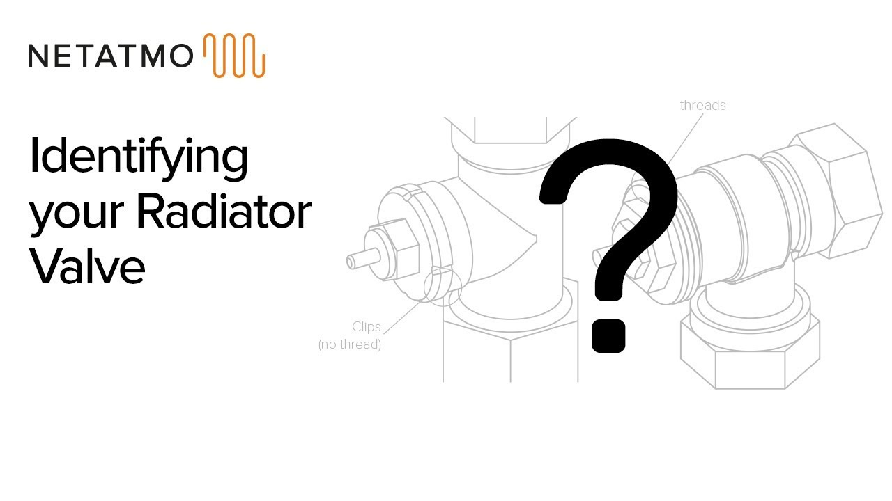How to distinguish between thermostatic radiator valves