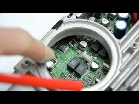 Repair: Kenwood TM-D700 faulty display
