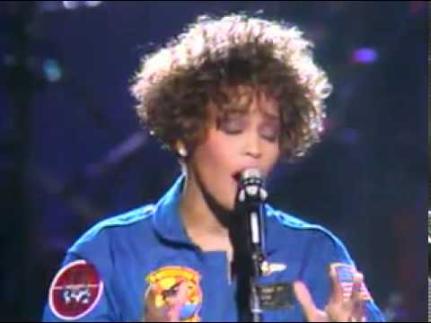 Whitney Houston Sings National Anthem