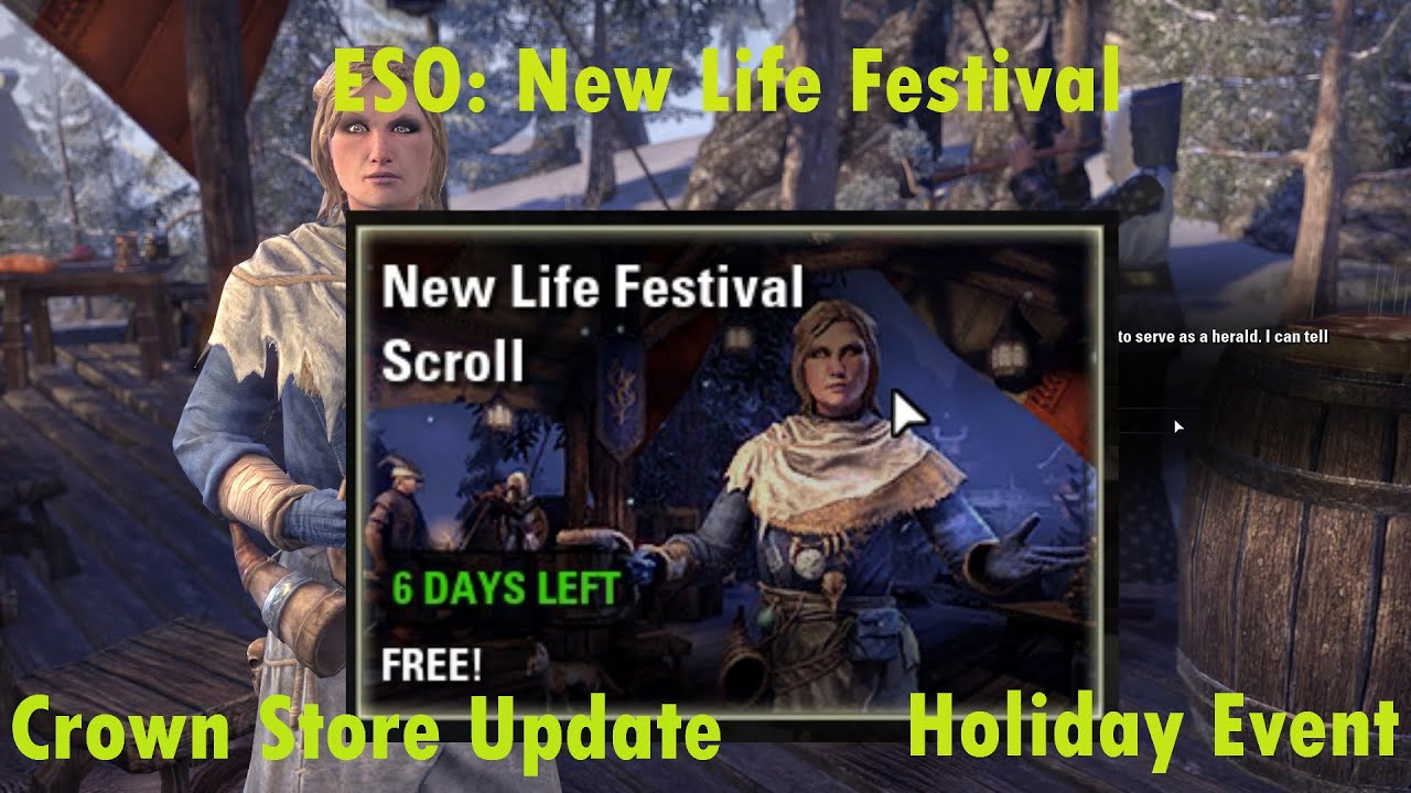 ESO: New Life Festival Event - YouTube