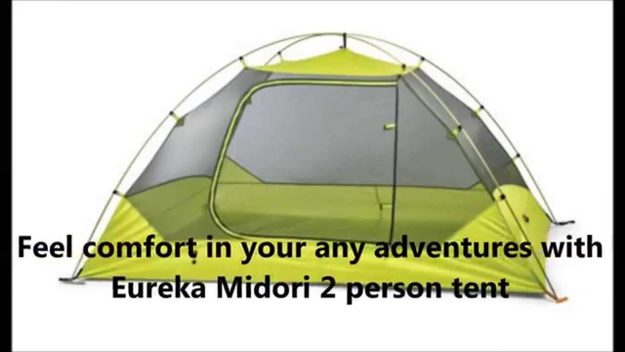 Eureka Midori 2 Person Tent ; One of the best backpacking tent - YouTube  sc 1 st  YouTube : eureka 2 person tent - memphite.com