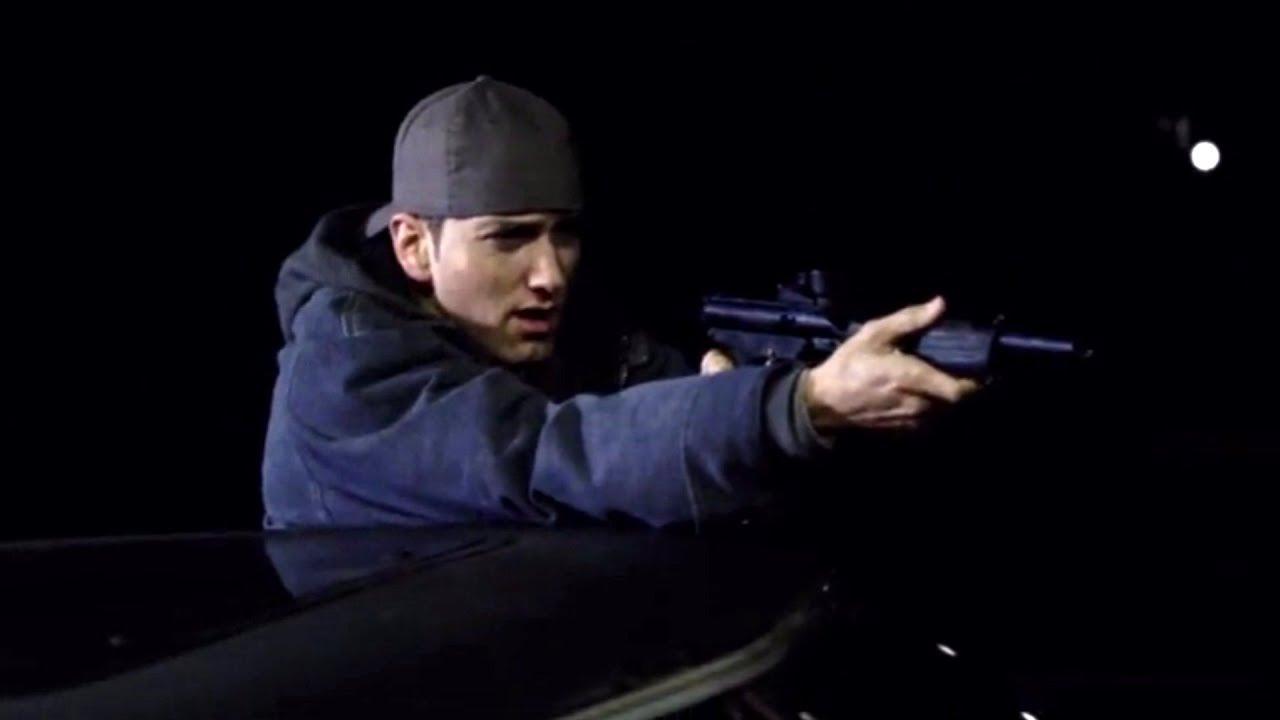 8 Mile 2002 Paintball Gun Scene Eminem Movie Youtube
