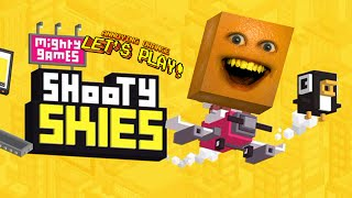 Annoying Orange plays SHOOTY SKIES!