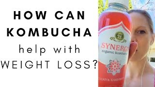 How can Kombucha help with weight loss results?