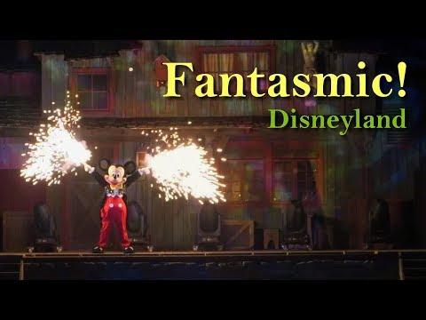 Disneyland Fantasmic! 2018 Complete Show Low Light Camera HD 1080p 60fps