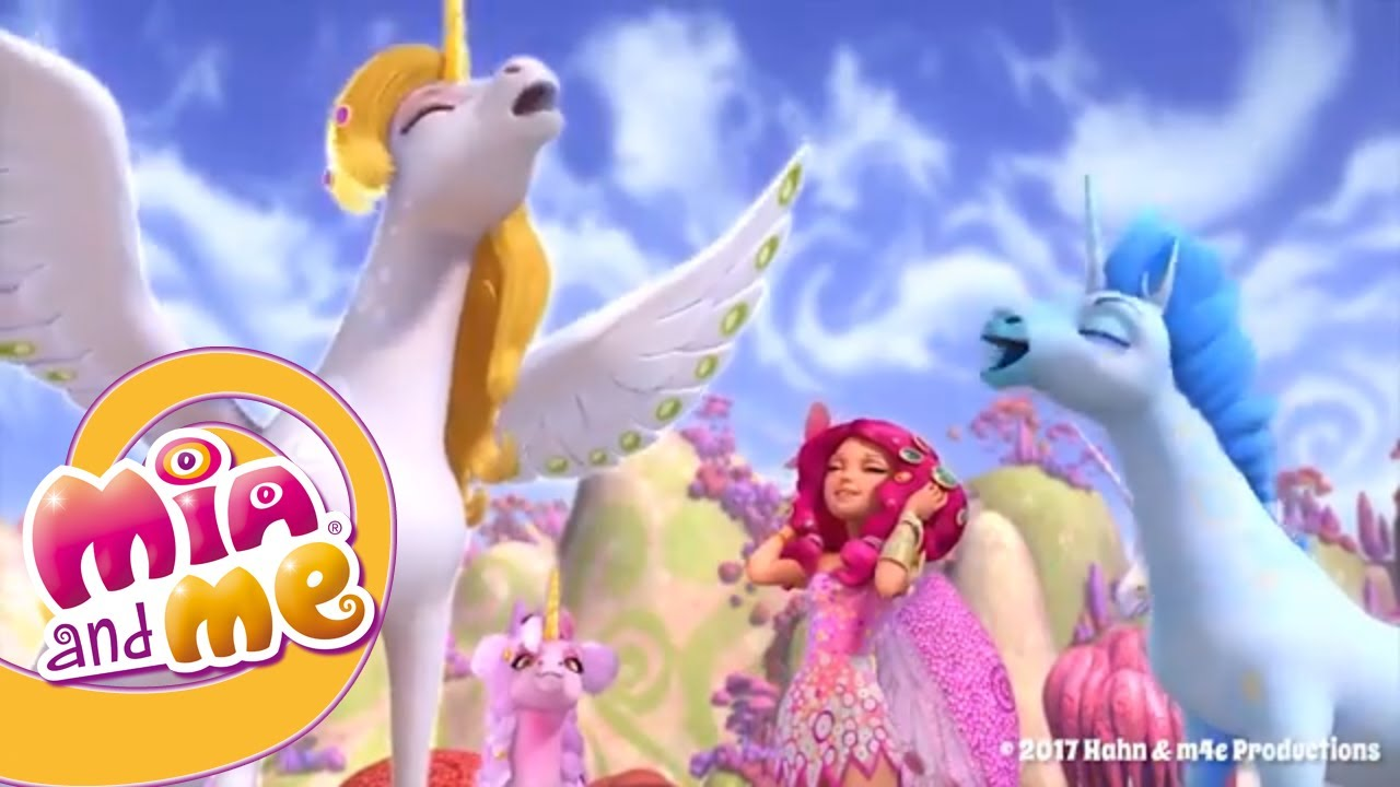 Mia & Me'nin 3. Sezon - Yeni tekboynuzlu atlar - Mia and me
