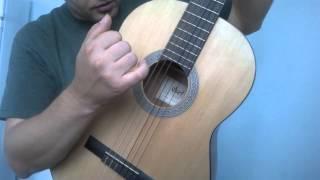 Уроки гитары.Убойный испанский бой.Фламенко