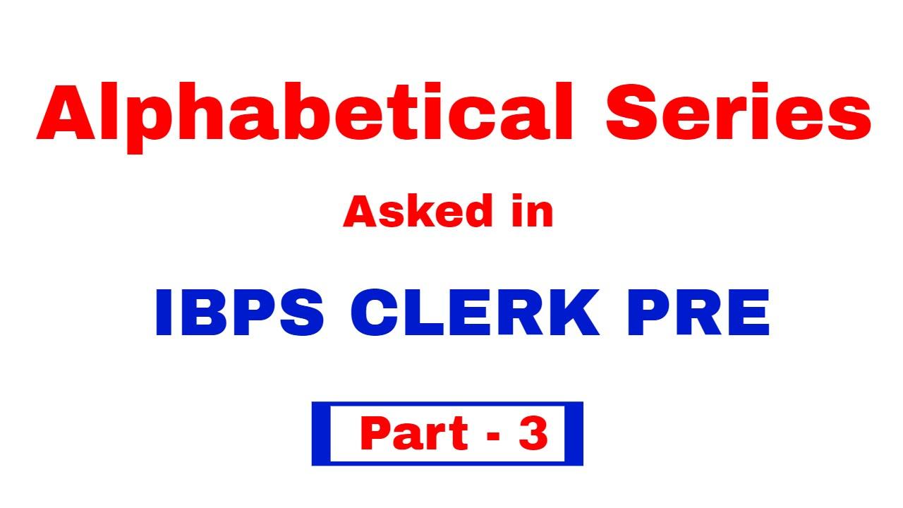 alphanumeric alphabetical series series reasoning tricks for alphanumeric alphabetical series series reasoning tricks for bank po clerk in hindi part 2