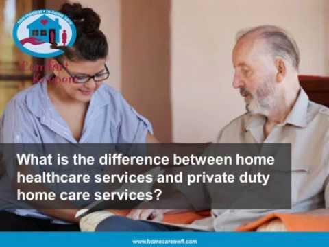 Home Care Pensacola FL: What is the difference between home healthcare and home care services?