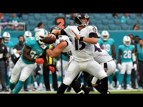 Ravens VS Dolphins Highlights 2017 Preseason Game