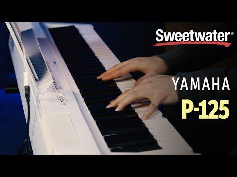 Yamaha P-125 Digital Piano Review