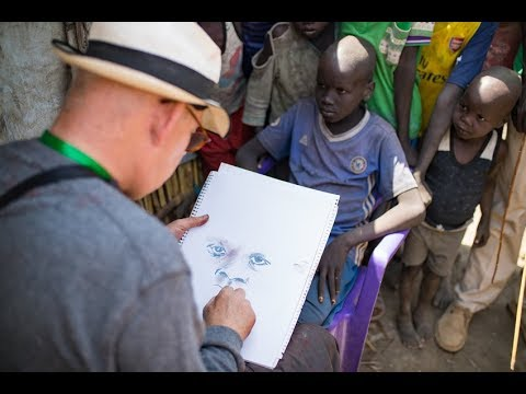HUMANITY Site Unseen: Irish artist Brian Maguire in South Sudan