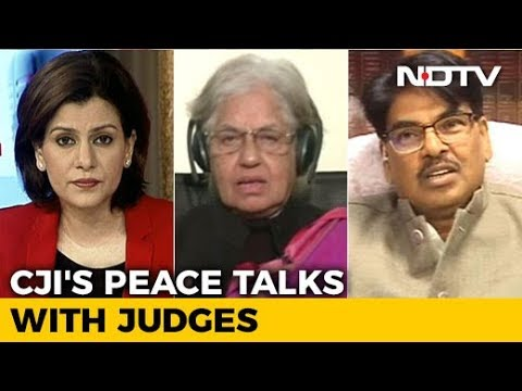 Chief Justice Meets Rebel Judges: But Can Court Row Be Resolved?