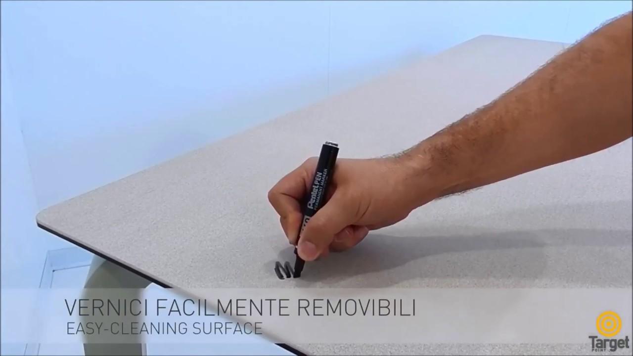 Test resistenza tavoli in gres porcellanato   Target Point - YouTube