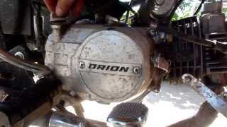 Orion 125b. Вторая  замена масла