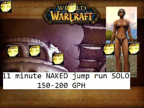 NAKED WARLOCK 11 MINUTE DIRE MAUL JUMP RUNS (150GPH, ANY GEAR)