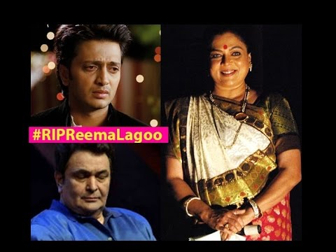 RIP Reema Lagoo Bollywood Celebs Mourn over her Sudden Demise
