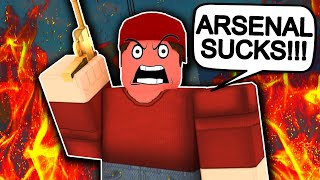 This Made Me HATE Arsenal... (ROBLOX)