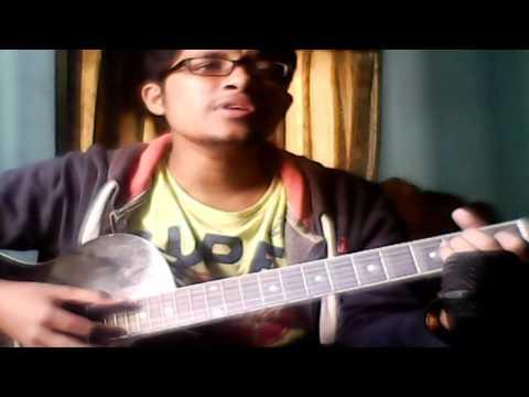 Amaro Porano Jaha Chay By Shanto   Acoustic Cover   Rabindra sangeet