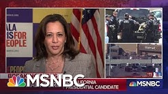 """Sen. Harris On Trump's Response To Shootings: """"Any Words That He Speaks Today I Find To Be Empty"""""""