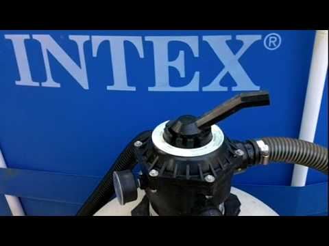 part 6 hooking up a sand filter to an intex pool