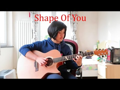 Shape Of You - Ed Sheeran (fingerstyle guitar cover) Free Tabs