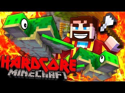 Minecraft Hardcore - NOT THE TURTLES! #2