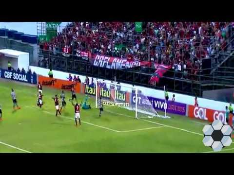 VEJA OS GOLS - Botafogo 3 x 3 Flamengo - Brasileirão 2016