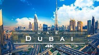 Dubai, United Arab Emirates ???????? - by drone [4K]
