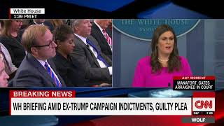 White House  Indictments have 'nothing to do with the president'
