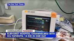 13 die of coronavirus at same New York City hospital in 24 hours