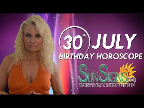 July 30 Zodiac Horoscope Birthday Personality | SunSigns Org