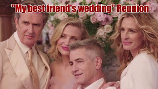 """My best friend's wedding"" reunion ❤  Julia Roberts Dermot Mulroney Cameron Diaz Rupert Everett"